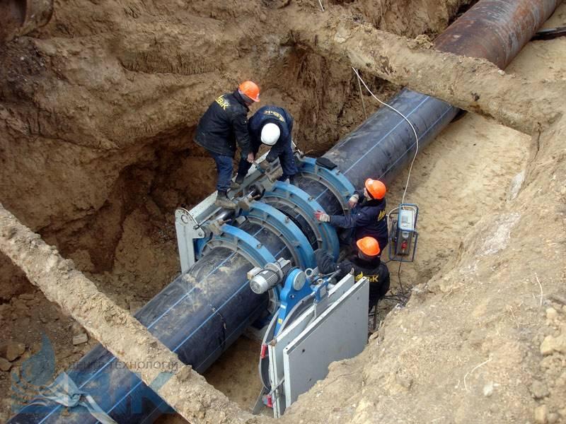 Монтаж наружного водопровода и канализации, правила укладки, необходимая документация
