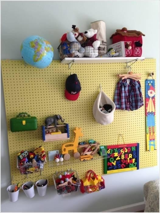 Хранение игрушек в детской комнате: полезные идеи для организации хранения игрушек