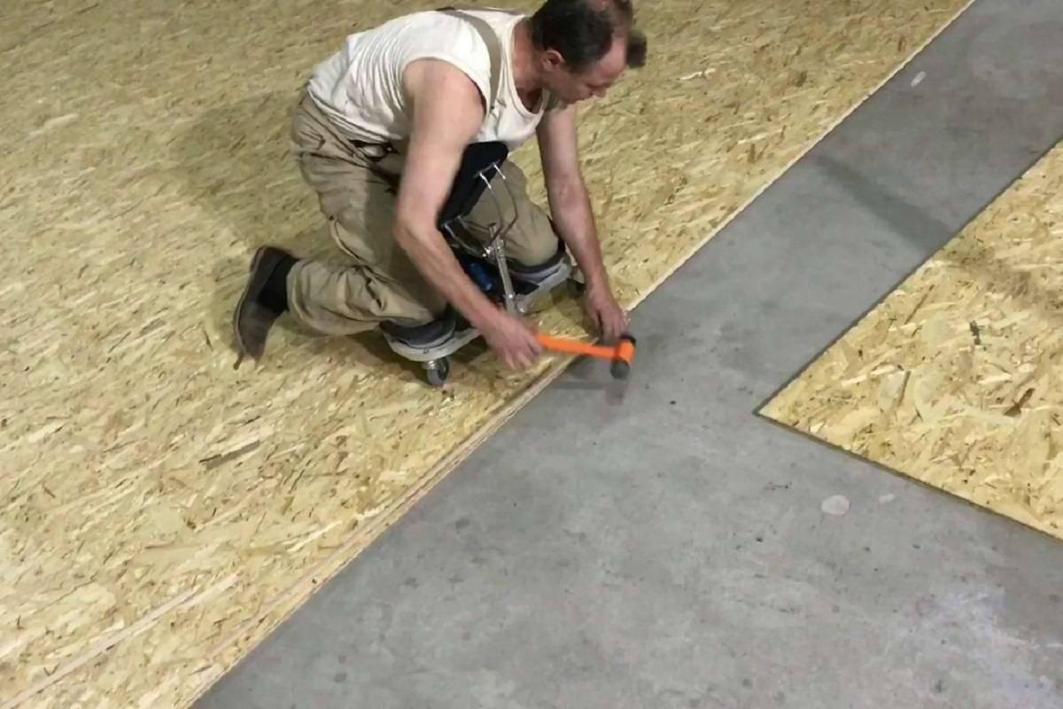 Монтаж oсб на пол: инструкция - ремонт и дизайн