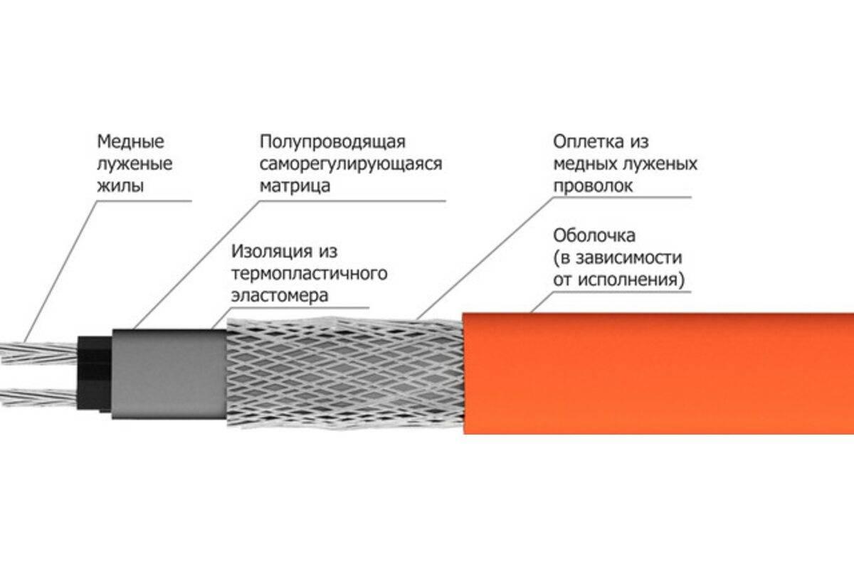 Как правильно подобрать провод (кабель) для прогрева бетона в зимнее время