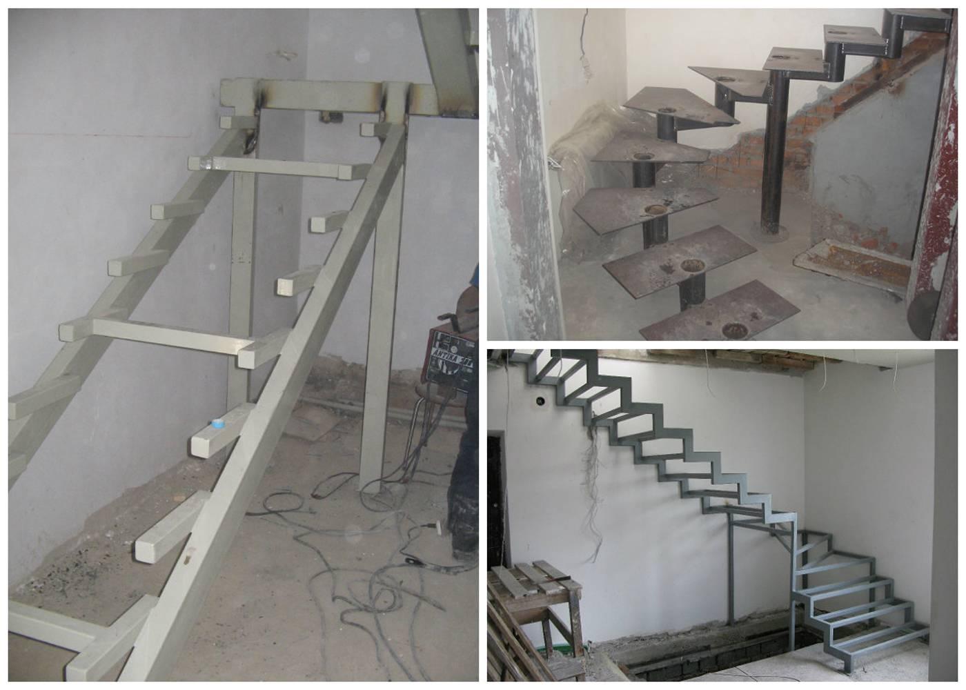 Как правильно изготовить металлическую лестницу для коттеджа?