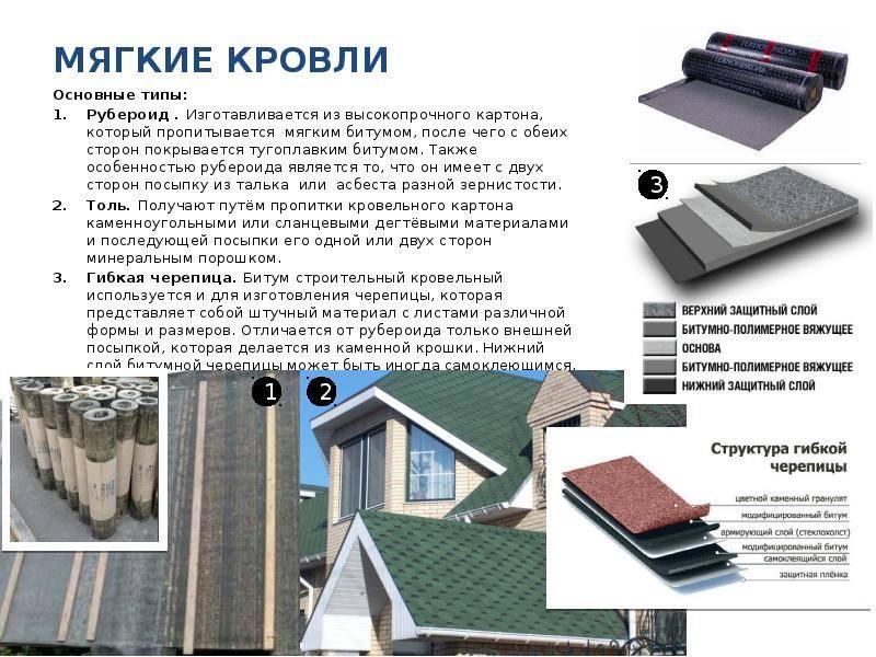 Чем крепить рубероид к деревянной крыше: способы установки