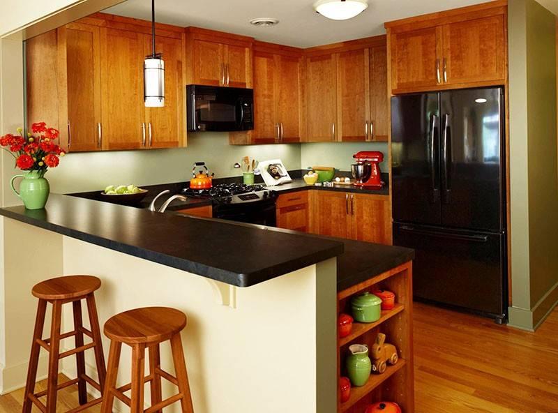Дизайн-проект кухни: готовые варианты, инструкция проектирования, как спроектировать интерьер кухни своими руками. фото варианты реализованых проетков кухни.