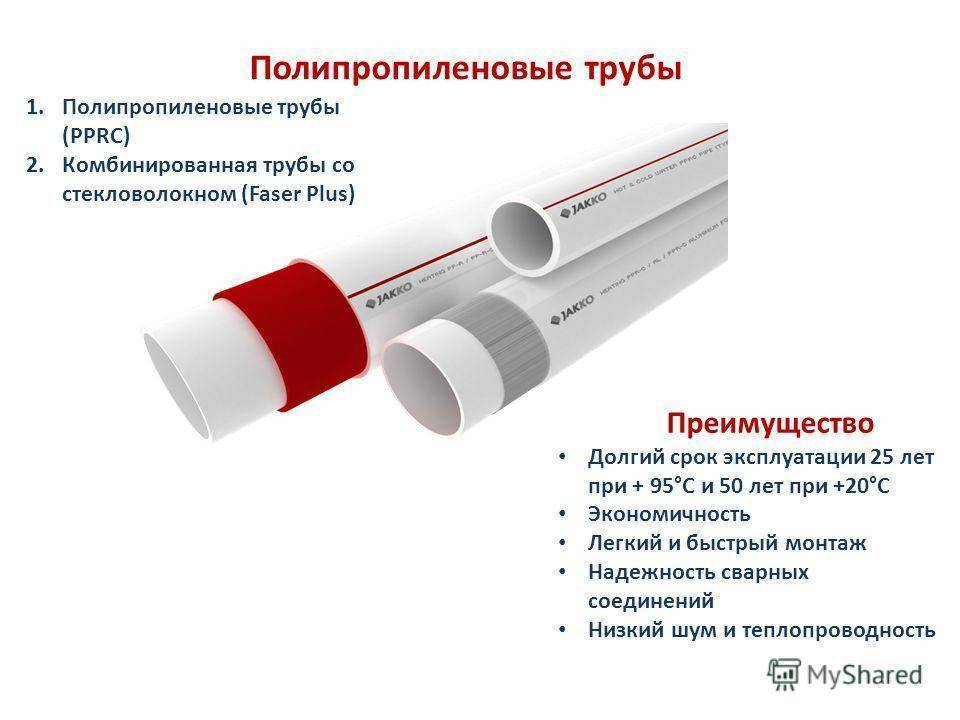 Полипропиленовая труба для отопления - лучшее отопление