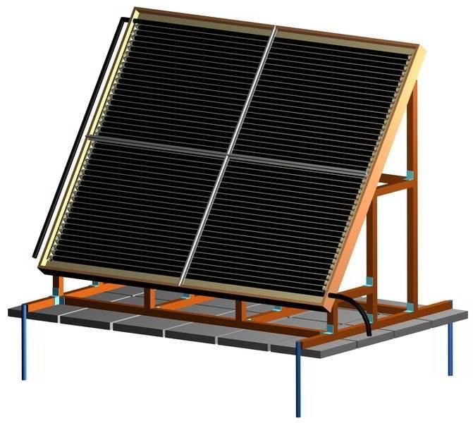 Используем солнечную энергию по назначению: как сделать коллектор своими руками