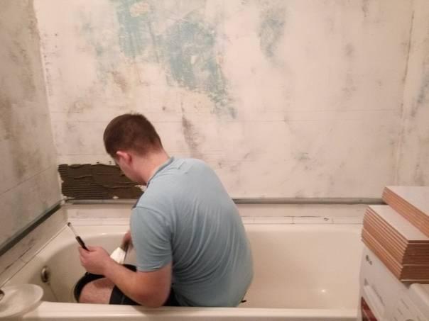 С чего начать ремонт в ванной: этапы капитального ремонта ванной комнаты, порядок ремонта санузла своими руками с нуля, поэтапный, пошаговый ремонт