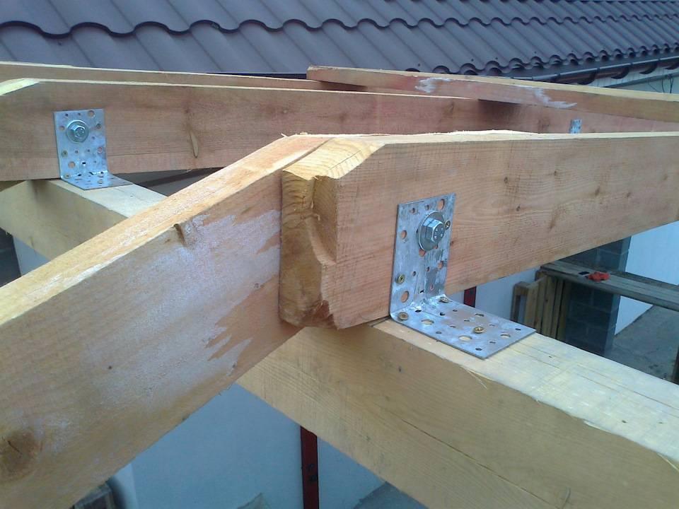 Как производится крепление стропил? - блог о строительстве
