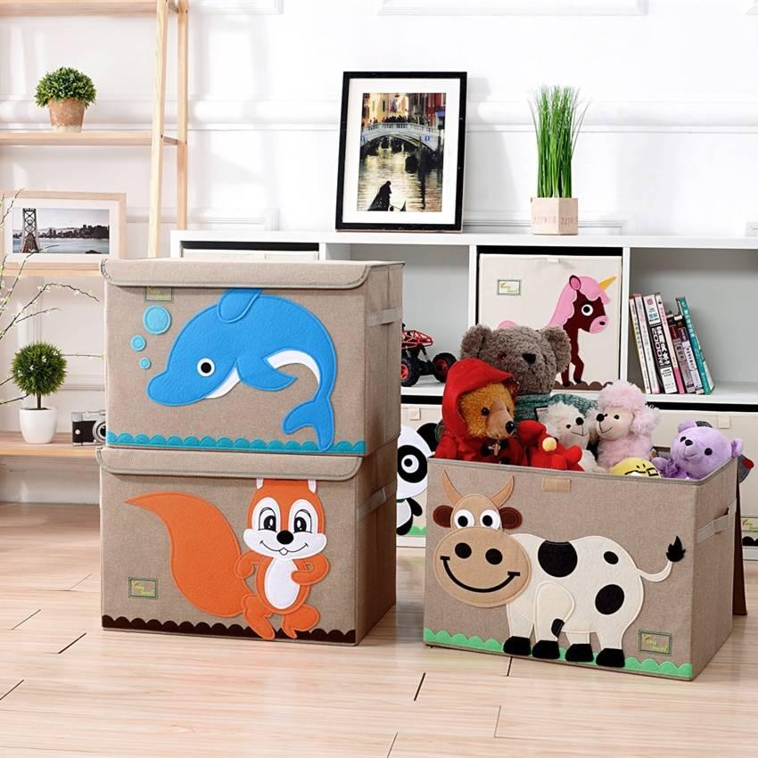 Идеи для хранения игрушек – советы по поддержанию идеального порядка - 40 фото