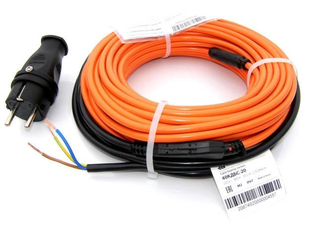 Обзор нагревательного кабеля пнсв для прогрева бетона