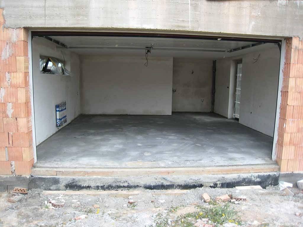 Какие полы лучше класть в гараже, описание вариантов, фото, видео