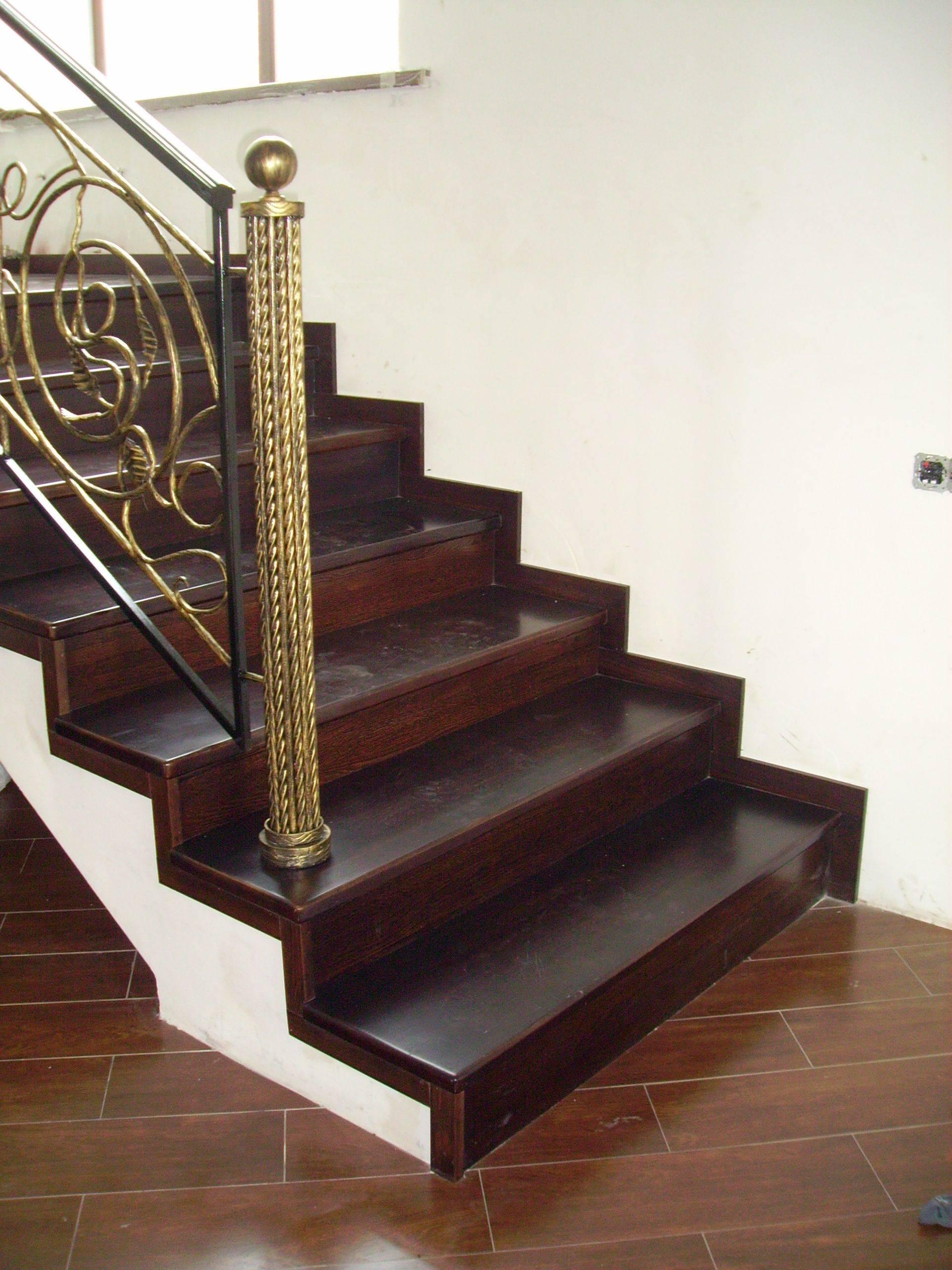 Варианты и технология отделки лестниц