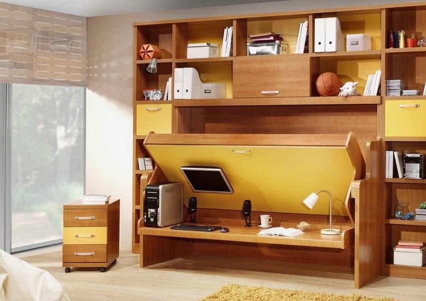 Детская мебель трансформер для малогабаритных комнат. трансформируемая мебель (35 фото). встроенные в шкаф и стол
