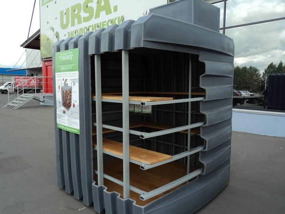 Пластиковый погреб для дачи — конструкция и рейтинг лучших вариантов