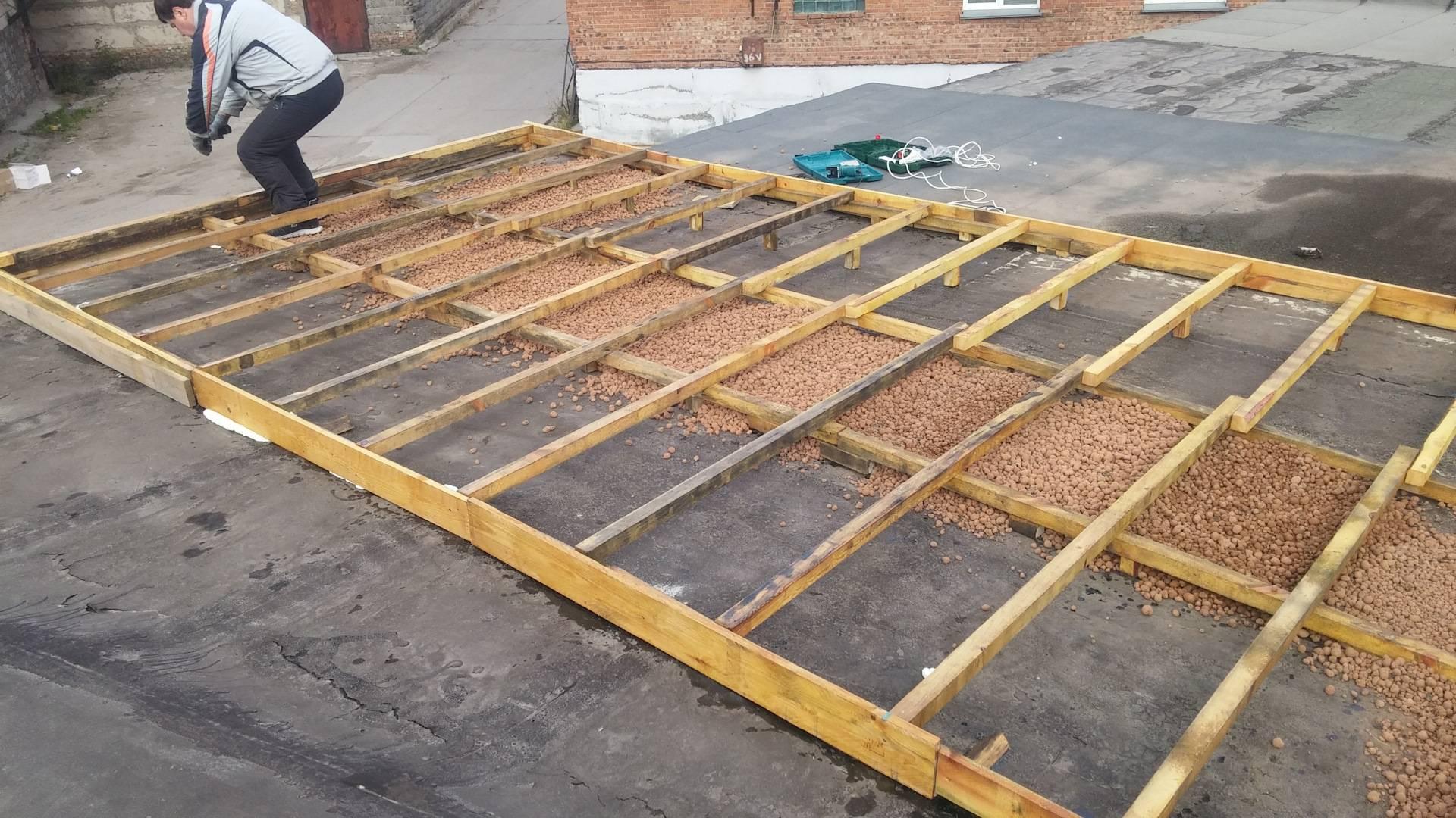 Пошаговое строительство односкатной крыши на гараже своими руками: как правильно сделать, фото-материалы