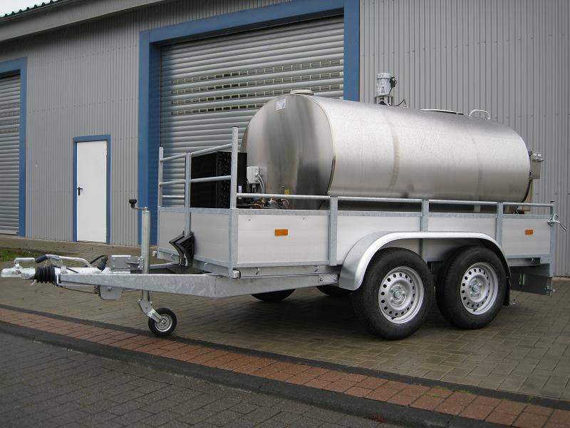Мобильный газгольдер: передвижная емкость на прицепе для хранения газа