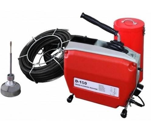 Машина для прочистки канализационных труб: оборудование, насадки