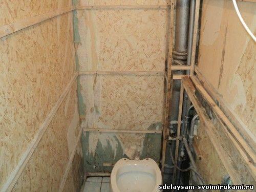 Схемы и порядок разводки трубопроводов в ванных комнатах и туалетах
