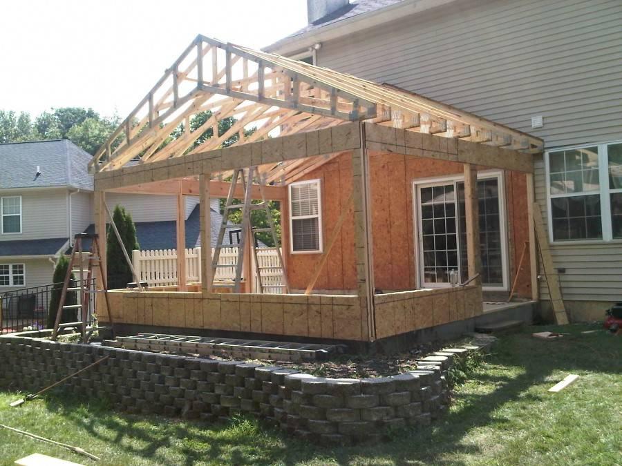 Пристройка к деревянному дому своими руками: оригинальные идеи с фото