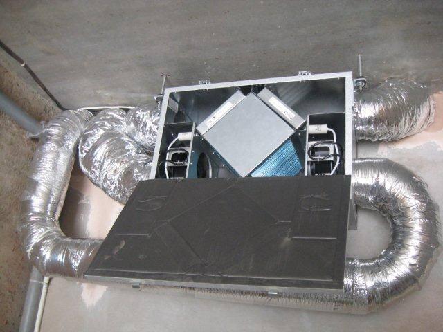 Приточная вентиляция с подогревом воздуха с фильтрацией для квартиры