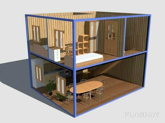 На всех парусах! дом из морского контейнера: превращаем техническое помещение в жилое