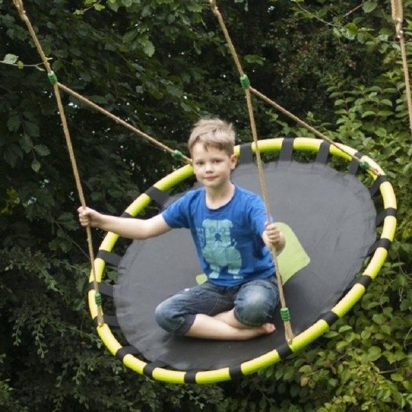 Качели «гнездо»: особенности и правила выбора конструкций