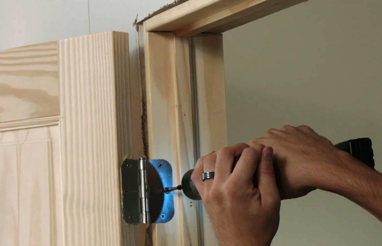Как установить межкомнатную дверь: нюансы, подробная инструкция