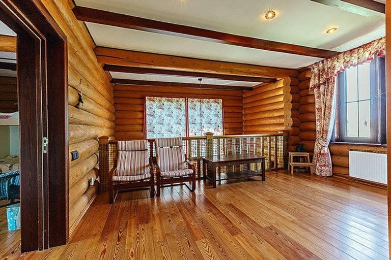 Внутренняя отделка деревянного дома — технические особенности