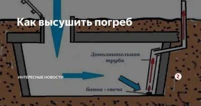 Сырость в подвале гаража: как сделать сухим подвал и убрать плесень