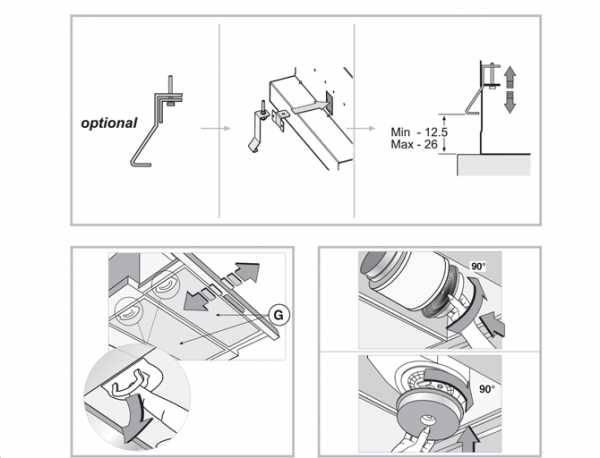 Как встроить вытяжку в шкаф: советы по монтажу и креплению