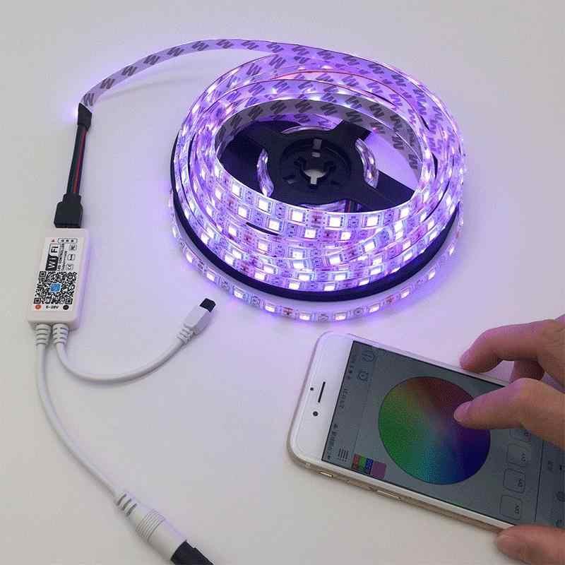 Монтаж светодиодной ленты своими руками - принцип подключения светодиодных лент + фото