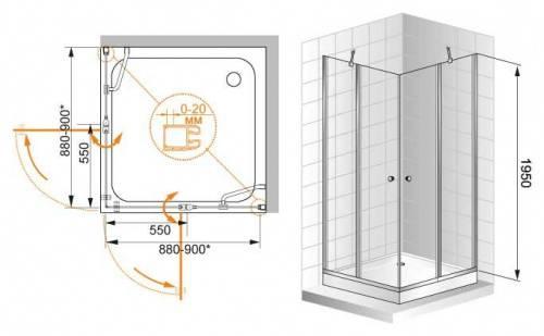 Вот почему маленькие душевые кабины — идеальный вариант для компактной ванной комнаты