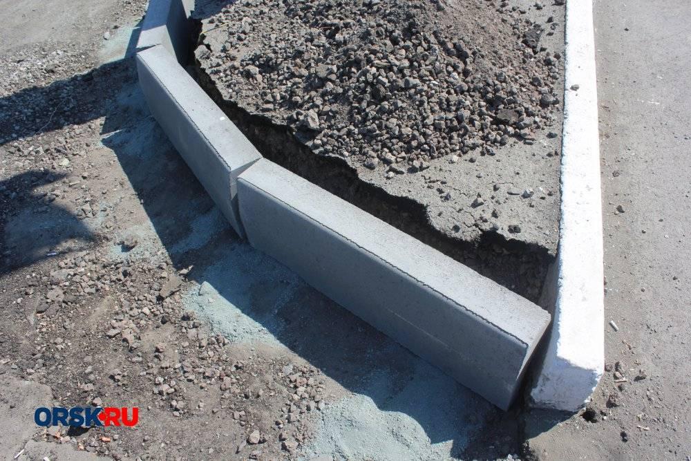 Бордюр своими руками из бетона-технология изготовления
