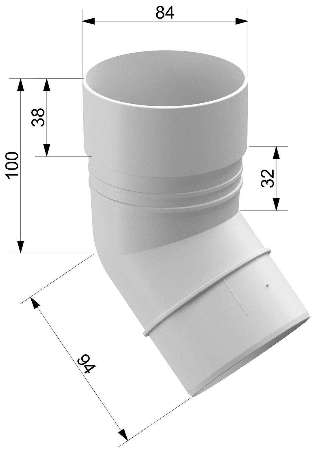 Желоб водосточный: размеры, уклон водостока по госту и элементы системы - кронштейны, уголки, держатели, заглушки и многое другое