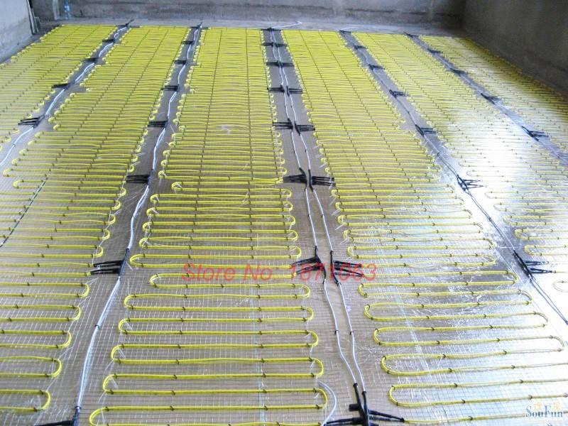 Стержневой инфракрасный теплый пол под плитку характеристики, установка