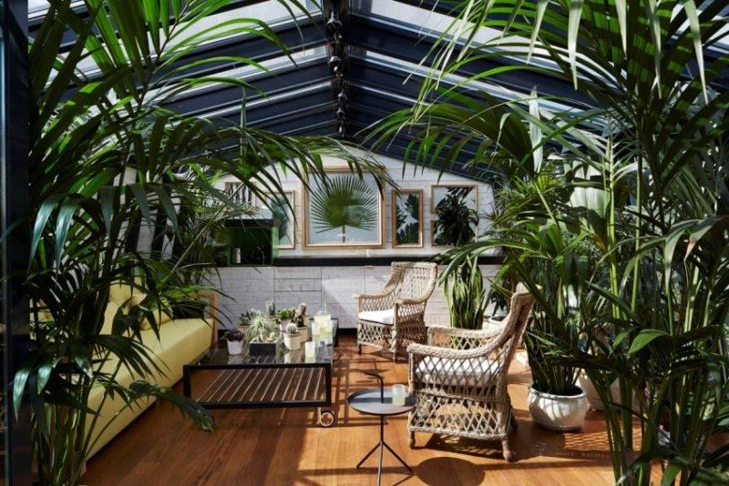 Зимний сад в доме: выбор материалов и рекомендации по подбору дизайна