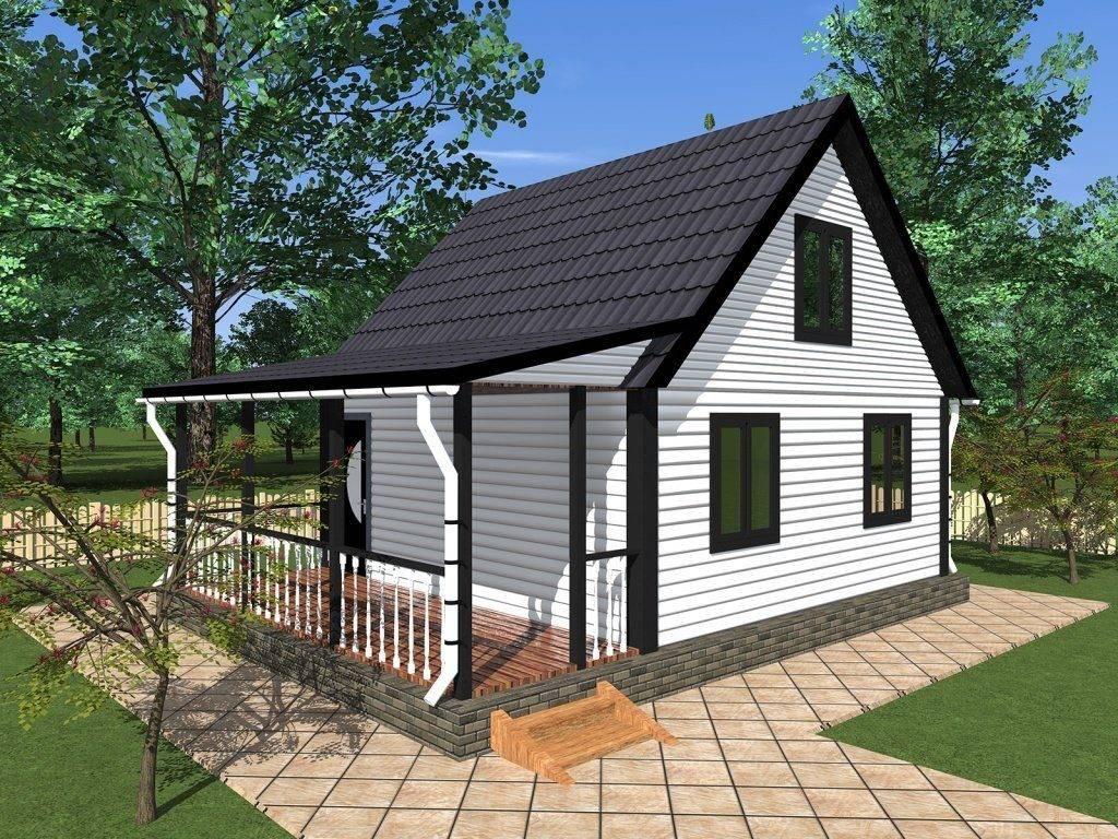 Дачные домики своими руками (проекты, фото): это вам под силу - happymodern.ru