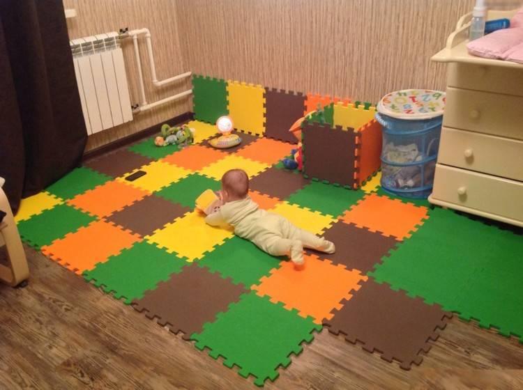 Полы в детской комнате, виды и особенности - фото примеров