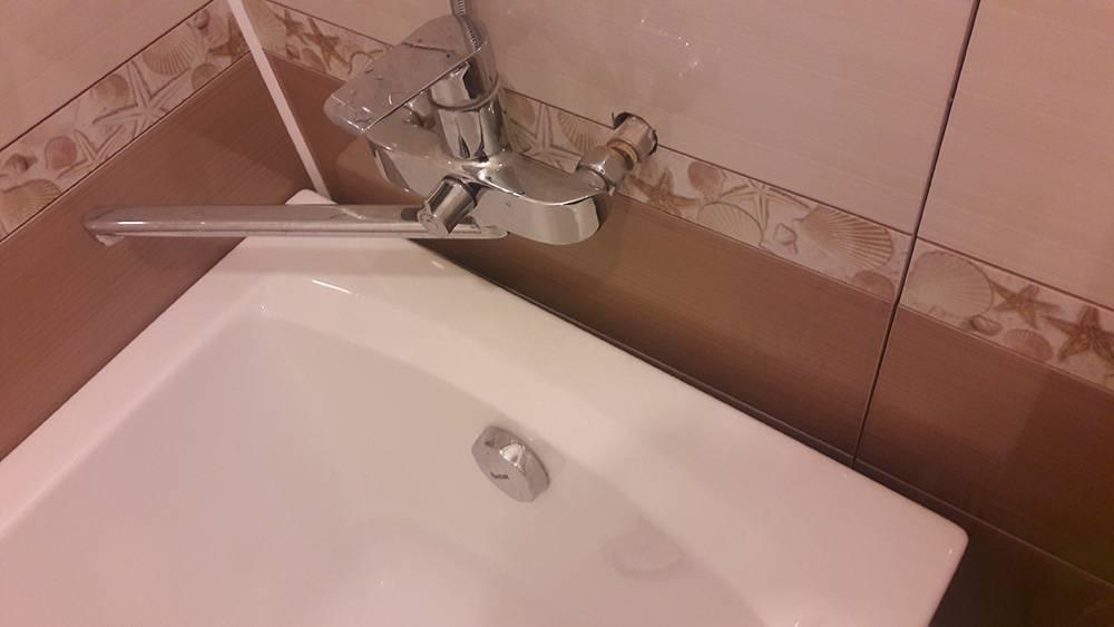 Герметизация стыка между ванной и стеной - клуб мастеров