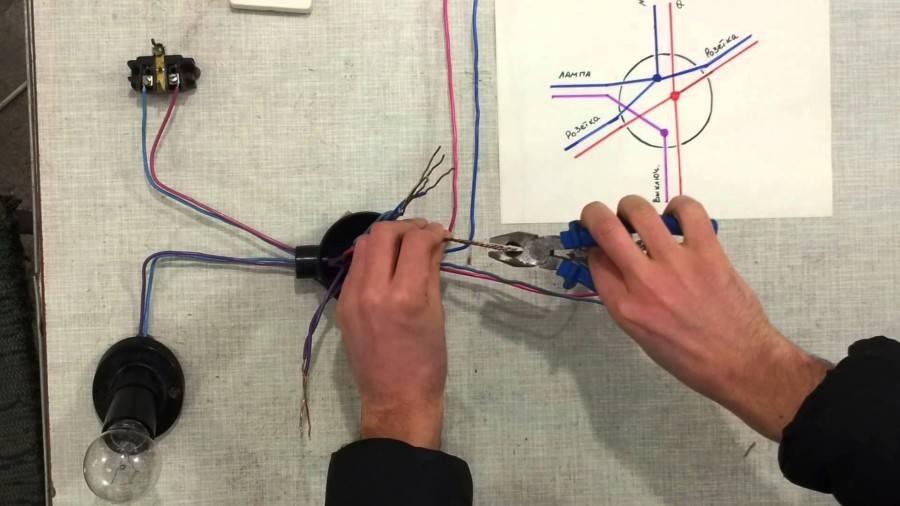 Самые лучшие способы соединения проводов в распределительной коробке   блог виктора потапова