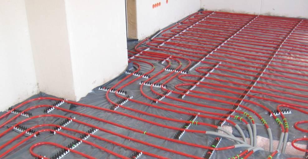 Теплый пол под линолеум на деревянный и бетонный пол