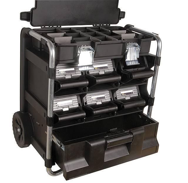 Ящик для инструментов: обзор моделей, предлагаемых торговлей