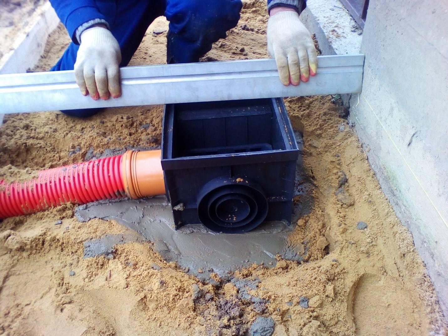 Укладка дренажной трубы: технология устройства, уклон при монтаже, как сделать правильно?