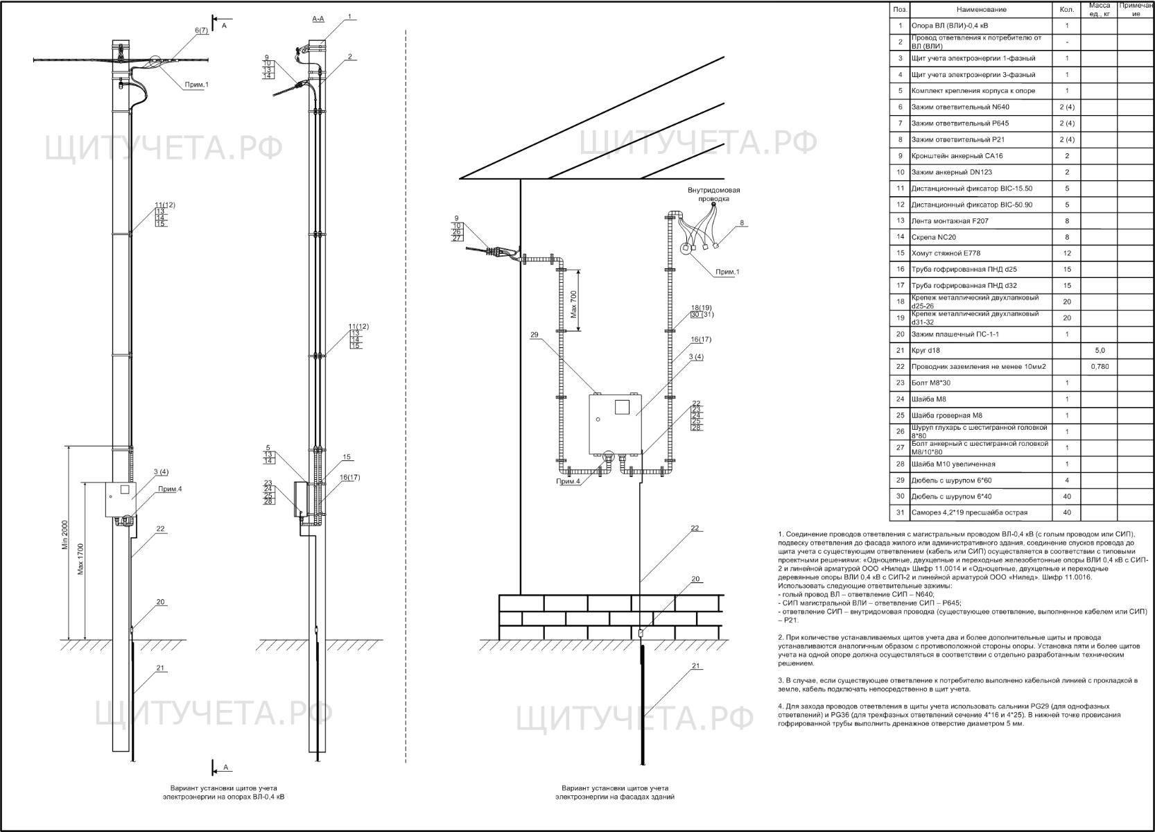 Как подключить строительную площадку к электричеству на время строительства