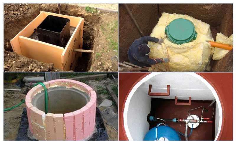 Способы утепления скважины в частном доме
