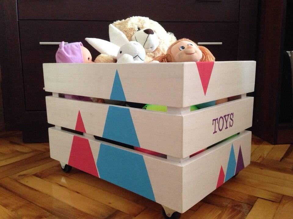 Организованное хранение игрушек в детской комнате: идеи и советы