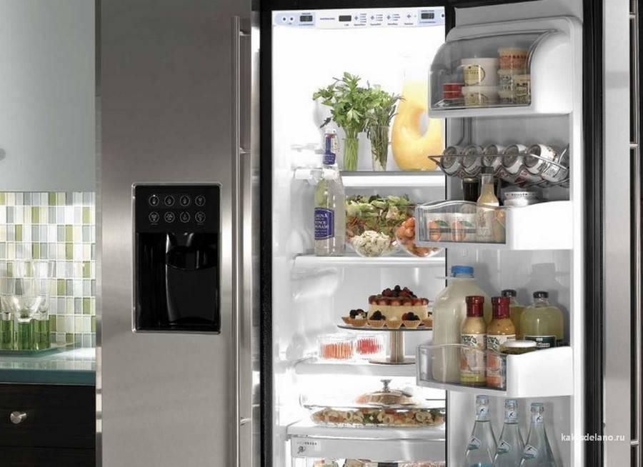 Двухдверный холодильник: плюсы и минусы двухстворчатой модели - точка j