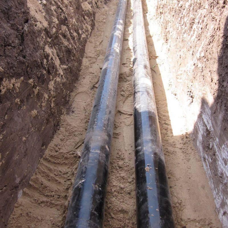 Правила прокладки подземных газопроводов