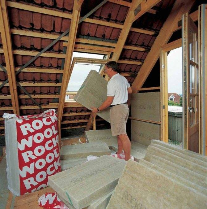 Утепление крыши дома своими руками: технология утепления кровли