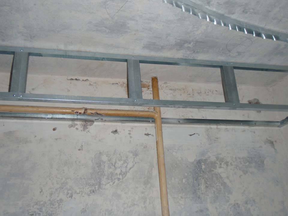 Двухуровневый потолок из гипсокартона своими руками - как сделать + фото и видео