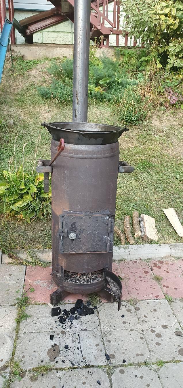 Печь из газового баллона своими руками – пошаговая инструкция